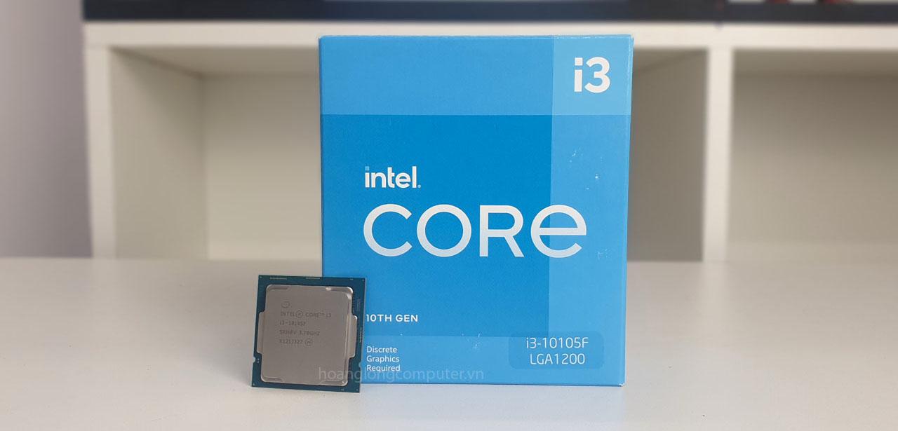 CPU I3-10105F chính hãng