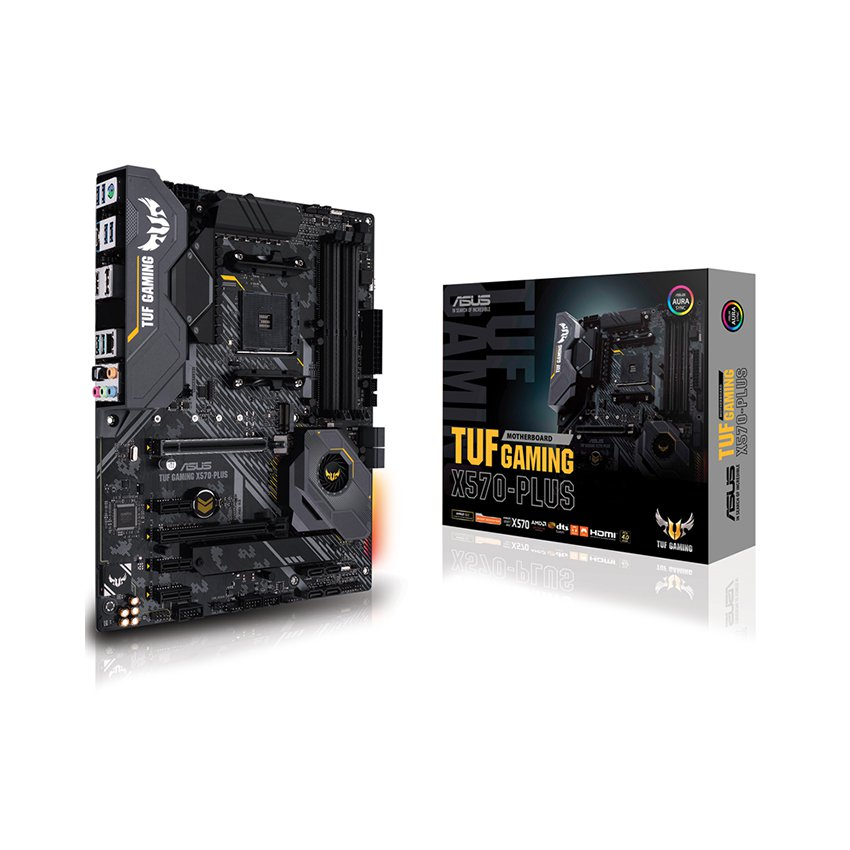 Mainboard ASUS TUF GAMING X570-PLUS (AMD X570, Socket AM4, ATX, 4 khe RAM DDR4)