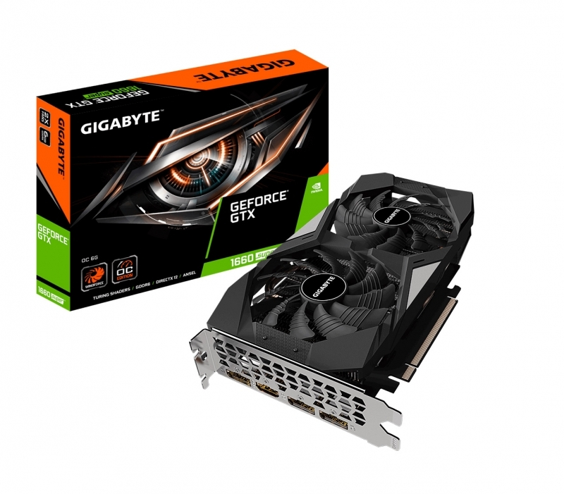 Card màn hình GIGABYTE GeForce GTX 1660 SUPER OC 6G 6GB GDDR6